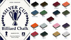 Silver Cup Billards Chalk - Pack of 12 (17 Available colours) £5.35 GBP on eBay