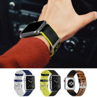 For Apple Watch Series 1 2 3!Sports Breathable Leather TPU Bracelet Band Strap