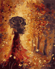 """DIY Paint By Number Kit Painting on Canvas 16x20"""" Fall Beauty Background 1495"""