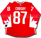 SIDNEY CROSBY 2016 TEAM CANADA NEW PREMIER JERSEY ADIDAS WORLD CUP OF HOCKEY