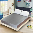 Luxury Bed Sheet Silk Mattress Cover Round Full Mattress Protector Fitted Sheet
