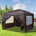 2x2m 3x3m 4.5x3m 6x3m Garden Pop Up Gazebo Marquee Party Tent Wedding Canopy New