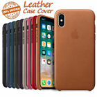Original PU Leather Case For iPhone X 8 Plus 7 Genuine OEM Cover Retail Box