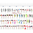 Внешний вид - Mixed Lot  Fishing Lures Spinners Kits Spoon Soft Hard Swim Crankbait Bass Trout