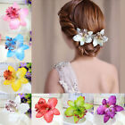 2 Pcs Barrette Flower Hairband Bridal Bohemia Hair Clip Beach Hair Accessories