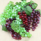 48heads Artificial Grape Bunch Decorations Funny Fake Fruit Cluster Home