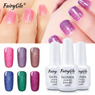 FairyGlo UV LED Soak Off Glitter Neon Gel Nails Polish Bling