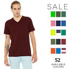 Bella Canvas Men's Jersey Short-Sleeve V-Neck T-Shirt 3005 XS-3XL image