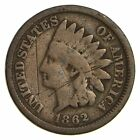 1862 - 1862 - Indian Head Cent - Copper Nickel *270