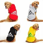 Pet Dog Clothes Clothing Jacket Winter For Coat Casual Hoodie Warm Adidog Dogs G