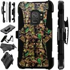 For Samsung Galaxy Phone Case Holster Kick Stand Cover CAMO OAK BROWN LuxGuard