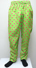 NEON GREEN HOT PINK POLKA DOTS MC Hammer Pants Muscle Baggy new clown SHEER fun