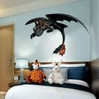 Hiccup Toothless How To Train Your Dragon Window View Wall Sticker Wall Mural 3d