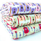 MANY MINI GUITARS - 50'S 60'S VINTAGE 100% COTTON  FABRIC patchwork fashion