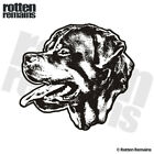 Rottweiler Dog Decal Rottie Pet Kennel Vinyl Car Truck Sticker (LH) EMV