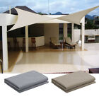 Waterproof Sun Shade Sail Garden Patio Canopy UV Block Cover Rectangular Outdoor