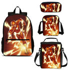 Cool Kids Boys The Flash Backpack Insulated Lunch Cooler Bag Satchel Wholesale