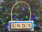 INDY Indianapolis Colts Luck Christmas Ornament Scrabble Tiles Key Chain Magnet on eBay