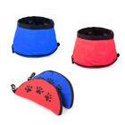 Portable Collapsible Foldable Pet Dog Cat Outdoor Travel Cloth Water Bowl Bottle