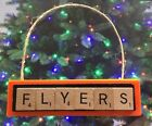 Philadelphia Flyers Christmas Ornament Scrabble Tiles Magnet $8.99 USD on eBay