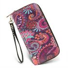 Внешний вид - Women's Long Wallet Clutch RFID Blocking Credit Card Holder Money Wristlet Purse