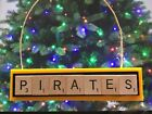 Pittsburgh Pirates Christmas Ornament Scrabble Tiles Rear View Mirror Magnet on Ebay