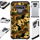 FUSIONGuard For Samsung Galaxy NOTE 9 8 S9 S8 Phone Case ARTISTIC CAMO GREEN