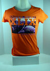 Women's Super Bowl XLIX 02-01-15 Orange Purple Shirt New England Patroits