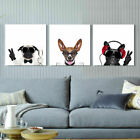 Funny Cartoon Dog Paintings Pictures Canvas Prints Home Kids Room Art Decor Gift