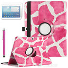 For Samsung Galaxy Tab 3 10.1 P5200 Rotating PU Luxury Leather Stand Case Cover
