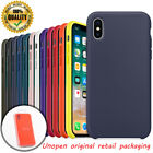 """High Quality Original Silicone Case Cover For Apple iPhone X XS 5.8"""" XS Max 6.5"""""""