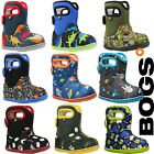 Bogs Wellies Boots Baby Waterproof Warm Insulated Fur Lined -10c Kids Childrens