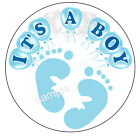 ITS A BOY GENDER REVEAL BABY SHOWER FAVORS LABELS STICKERS