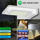 Внешний вид - 72 LED Solar Power Motion Sensor Garden Path Security Lamp Waterproof Wall Light