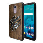 "For LG Stylo 4 Q710 L713DL 6.2"" 2018 Black TPU SILICONE Protective Case Cover"
