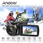 "Andoer FULL HD 1080P 24MP Digital Video Camera DV Camcorder Home Recorder HDV <br/> 16X ZOOM✅IR Night Vision✅3.0"" IPS Screen✅HDMI✅Remote✅"
