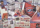 2008-09-10 PHOTO POSTER INSERT JOURNAL DE MONTREAL CANADIENS NHL HOCKEY SEE LIST $4.00 CAD on eBay