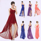 Ever Pretty One shoulder Bridesmaid Party Dress High-low Evening Prom Gown 08100