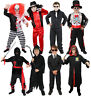 BOYS HALLOWEEN FANCY DRESS COSTUME KILLER SCARY KIDS OUTFIT S M L XL CHILDS