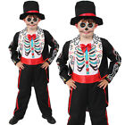 BOYS HALLOWEEN COSTUME FANCY DRESS KILLER SCARY KIDS OUTFIT S M L XL CHILDS