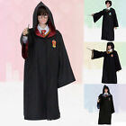 Harry Potter Robe Mantel Umhang Cape Cosplay Kostüm Fancy Karneval Halloween