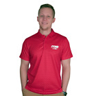 Storm Lightning Polo Red Mens Bowling Shirt Jersey