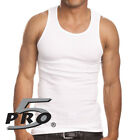 Pro 5 Men's Casual Basic Classic Wife Beater Undershirt Muscle Tank Top