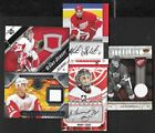 DETROIT RED WINGS AUTOGRAPH JERSEY NHL HOCKEY CARD SEE LIST $10.0 CAD on eBay