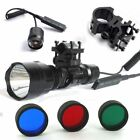 TACTICAL ML C8 800 1200 LM RGB BEAM FOR AIR RIFLE RIMFIRE HUNTING LAMP LIGHT LED
