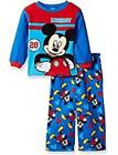 NEW TODDLER INFANT BOYS MICKEY MOUSE ROADSTER RACERS 2 PIECE PAJAMA SET 4T 18M 3