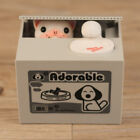 Automatic Stealing Money Cat Panda Piggy Bank Coin Saving Box Case Gift USA Sell