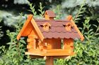 Square Bird House Bird Houses Bird Feeder Type 8 Selection of 4 Colours