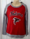ATLANTA FALCONS Women's Sweatshirt Size Small Soft Fleece Lined Distressed Logo on eBay