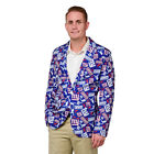 New York Giants NFL Ugly Business Sport Coat Repeat Logo by Forever Collectibles